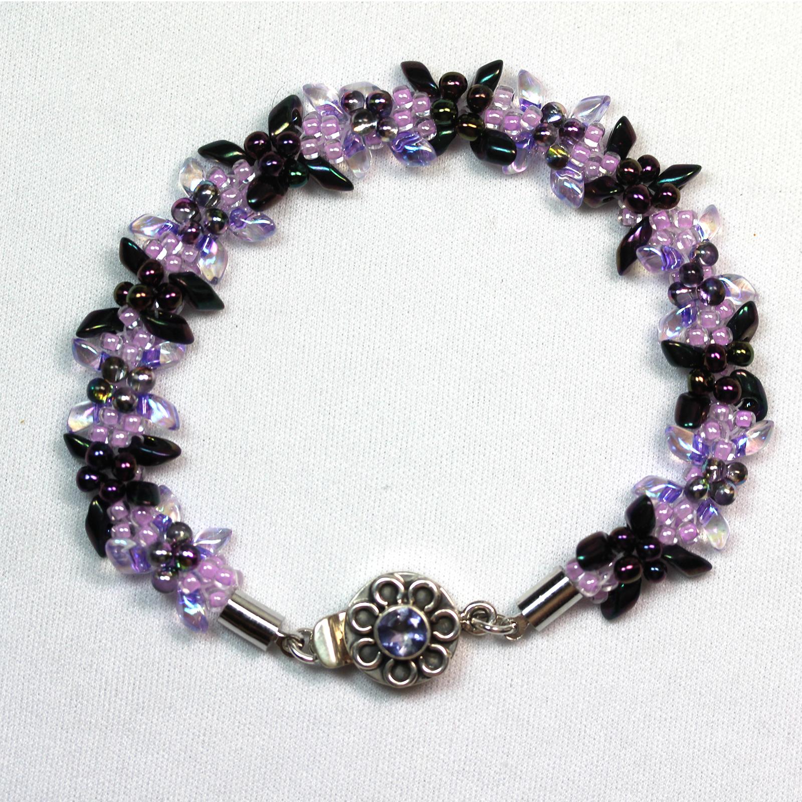 Kumihhimo Edelweiss Bracelet