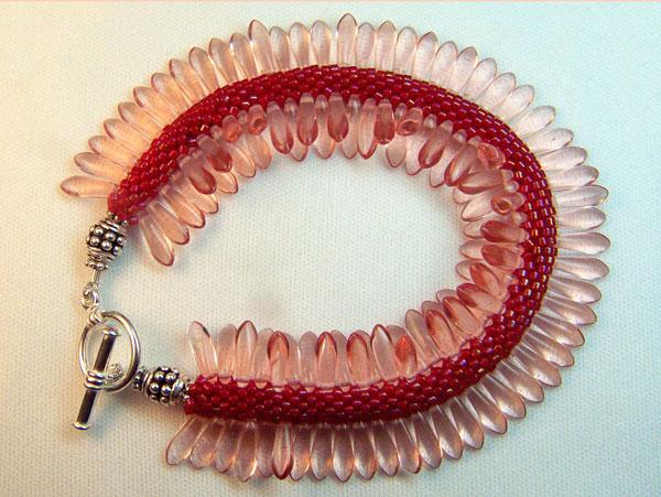 Gail Devoid Bead Crochet Creations B-P-Red-Pink2