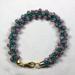 Designer Jewelry - Kumihimo Pellet Bracelet