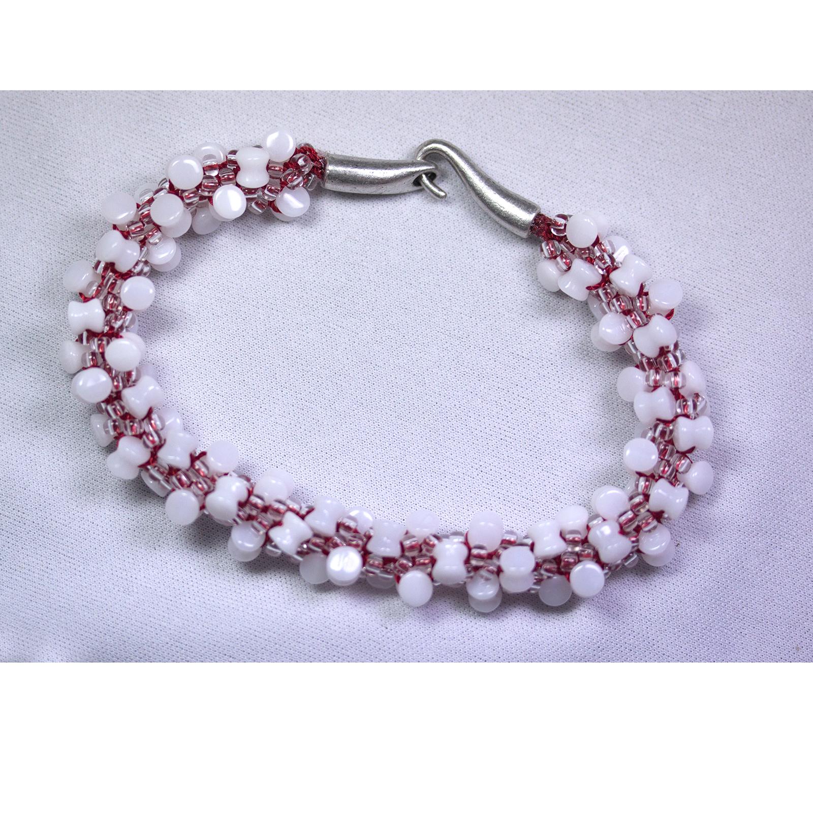 Kumihimo Pellet Bracelet Pattern