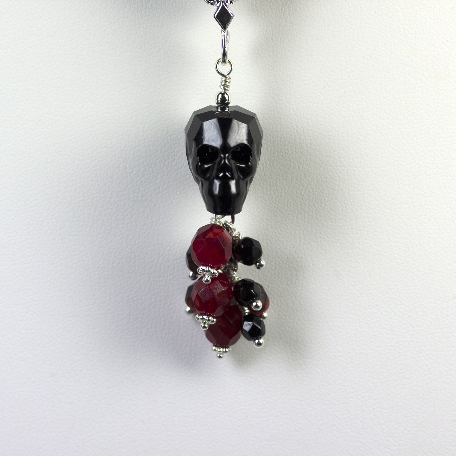 Designer Jewelry - Cinco de Mayo Skull Pendant