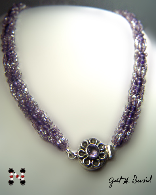 Designer Jewelry - Amethyst necklace