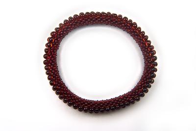 Designer Jewelry - 3-Drop Bead Crochet Bracelet Pattern