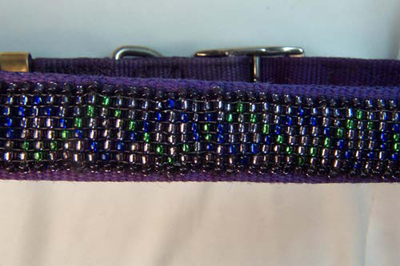 Designer Jewelry - Purple Dog Collar