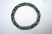 Designer Jewelry - Red Daisies Seed Bead Bracelet Pattern