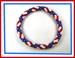Designer Jewelry - Star & Stripes Seed Bead Bracelet Pattern