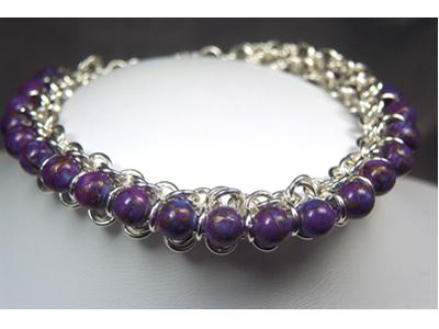 Designer Jewelry - Chain Maille Princess Bracelet